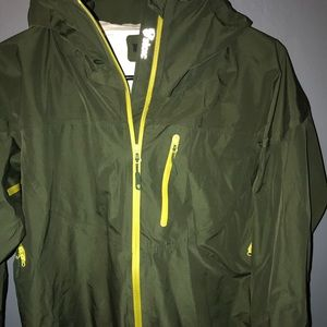 Jackets & Blazers - Forest green stoic rain jacket